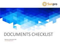 Documents requis